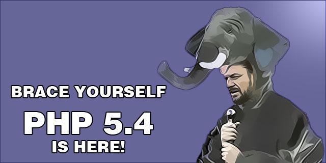 PHP versiunea 5.4
